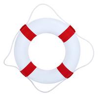 anillo de salvavidas de juguete al por mayor-Life Boya Anillo de Natación Piscina Flotante para Adultos Anillo de Natación Piscina de Agua Juguetes Divertidos Juguetes para Niños Juego de Juguete Decoraciones Del Partido Del Juguete
