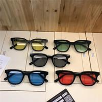moda óculos korea venda por atacado-Top Quality gentil Marca V Acetato Óculos de noite Coréia moda Sul oculos homens óculos de sol mulheres óculos de sol monstro Vem Com o Caso occhiali