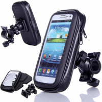 Wholesale phone case mount for sale - 360 Waterproof Bike Bicycle Mount Holder Phone Case Cover For all Phones Waterproof Bike Bicycle Mount Holder Phone Case