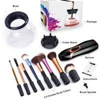 Wholesale Made Electronics - Electronic Makeup Brush Cleaners Deep Cleansing Long Lifespan Brushes Cleaning Machine Powder Eyeshadow Highlighter Make Up Clean Tool