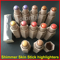 Wholesale Natural Match - 12 Colors Beauty Match stix Highlighters stick FB makeup shimmer skinstick face conceal contour highlight DHL free shipping