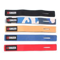 Wholesale gear tie - Fishing Rod Magic Sticker Tool Equipment Accessories Cable Tie Rod Strap Belt Fish Pole Wrist Band Suspenders 1 9ls bb