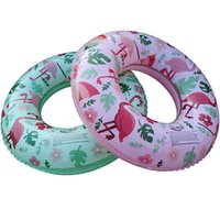 piscinas infantis infláveis venda por atacado-Projeto bonito Flamingos anel de Natação Piscina Inflável círculo Float Crianças nadar ferramentas 2 cores RÁPIDO envio