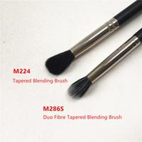 göz farı karıştırma fırçası toptan satış-MACCHINA 224 / 286S Konik Karıştırma Fırçası -Goat Saç Göz Farı Blender-Güzellik Kozmetik makyaj Aplikatör fırçalar Blender