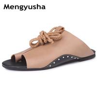 Wholesale roman gladiator sandals men - wholesale 2018 New Gladiator Women shoes Roman sandals shoes Women sandals peep-toe flat Shoes woman sandalias mujer sandalias