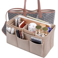 сумки для органайзеров сумки оптовых-Сумка-органайзер из фетровой вставки в сумке для сумочки Сумка для хранения, косметическая сумка для туалетных принадлежностей подходит для Speedy Neverfull