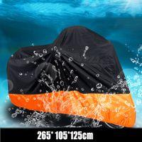 125 bicicleta al por mayor-Envío rápido impermeable moto exterior protector UV lluvia polvo moto cubierta XL / 2XL / 3XL