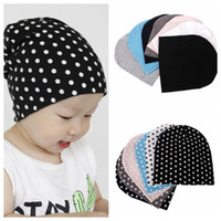 Wholesale child suit for winter resale online - baby Hat Winter Knitted Beanies For Child Kids Boys Girls Toddler Cotton Cap Infants Hat Beanies Casual Hats suit years KKA5697