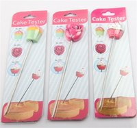 Wholesale R Modelling - Cake Tester Stirring Rod Stainless Steel Biscuit Icing Sugar Needle Baking Tools Many Styles 2 9am C R