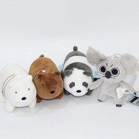 ingrosso ciondolo da orsacchiotto di koala-1pc Orso dei cartoni animati, Ciondolo di peluche ripiene di peluche, Orso bianco grigio grigio Panda Koala, Regalo di compleanno per bambini giocattolo