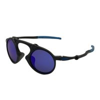 Wholesale dark blue goggles for sale - Designer Sunglasses O Mado man Dark Carbon Prizm Daily Black Frame Blue Mercury Iridium Plarized Lens OK84