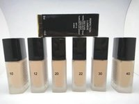 Wholesale base wine resale online - Brand Makeup Whitening Concealer Flawless Coverage Moisturizer Foundation Face Base Make up Perfection Lumiere Liquid Foundation Beauty