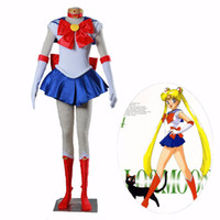 ingrosso costumi personalizzati-Athemis Anime Sailor Moon Tsukino Usagi Cosplay Party Costume Custom Made Any Size Dress Alta qualità