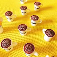 ingrosso bambola di bonsai-Nuovo ~ 10 pezzi latte / tazze di caffè / casa delle bambole / miniature / bella carina / fairy garden gnome / moss terrarium decor / bonsai / figurine