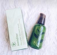 Wholesale green tea bottled for sale - Group buy Hot Sale INNISFREE Korea Green Bottle CREAM THE Green Tea Seed Serum Moisturizing Face Care Lotion ML New Face Skin Care Cream