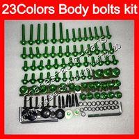 Wholesale Screws Bolts - Fairing bolts full screw kit For KAWASAKI NINJA 650R ER-6F 09 10 11 ER 6F 09-11 ER6F 2009 2010 2011 Body Nuts screws nut bolt kit 23Colors
