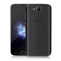 Wholesale doogee phone online - Doogee X9 Mini inch Cell Phone G WCDMA Android OS Real touch ID Quad Core Camera Smartphone