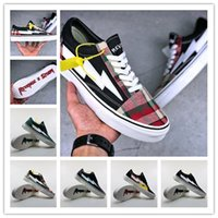 Wholesale Old Champagne - New 2018 Revenge X Storm Old Skool Canvas Men Shoes Men's Sneakers Skateboarding Sports Shoes Women Skate Shoes Womens Sport Boots