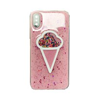 Wholesale Ice Blue Iphone Case - 1130-110 ice cream back case for iPhone6 plus,fashion protective back cover for iPhone6 6S plus 5.5inch