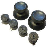 Wholesale aluminum ps4 for sale - Group buy Aluminum Metal D Analog Joystick Stick Cap Thumbsticks Bullet Action Button Buttons For PS4 Controller DHL FEDEX EMS