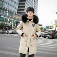 Wholesale parka jacket women fleece for sale - Group buy 2018 New Men Winter Jacket Mens Plus Hooded Padded Male Casual Warm Fleece Fur Collar Parkas Cold Winter Coat XL High Quality for Women