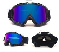 Wholesale atv skis - Motocross Helmet Goggles ATV MTB Dirt bike Eyewear Goggle Motorcycle Enduro Off-Road Windproof skiing Skating Glasses