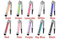 Wholesale Luxury Fashion Diamond Crystal Stylus Pen For iPhone Tablet Laptops Universal Phones touch screen Stylus Pen