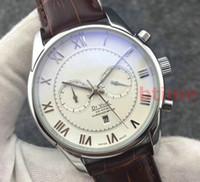 marcas relógio mecânico preço venda por atacado-Preço de atacado Marca Mecânica Mens Relógios Moda Movimento De Aço Inoxidável Automático Relógio De Luxo Esporte De Couro Auto-Vento Relógios De Pulso