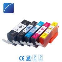 Wholesale pixma printers - 5 Ink Cartridges PGI525 CLI526 Compatible for Canon PIXMA MG8150 6150 5250 MG8250 IP4850 IX6550 MX885 MX895 MX715 Printer