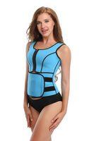 Wholesale sports waist cinchers wholesale for sale - Neoprene Waist Trainer Fat Burner Vest Breathable Corset Women s Sport Corset Women Slim Body Shaper Girdles Corsets