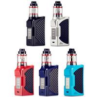 комплекты для начинающих сигарет без пара оптовых-BIGBOX 90W Vape Mods Стартовые наборы с экраном дисплея Big Vapor 2200mAh Аккумулятор для курения Box Mod Электронная сигарета DHL Free