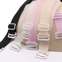 Wholesale gel for silicone bra for sale - Group buy 3pair Summer Bra Straps Belt Soft Gel Silicone Straps for a Bra Accessories Adjustable Colorful Women s Bras Shoulder Strap