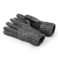 hombres tejiendo la muñeca al por mayor-Guantes de lana de moda dedo  completo cálido 9c8c4e6ed5c