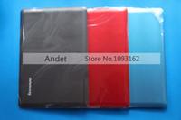 lenovo için arka kapak toptan satış-Lenovo U410 LCD Kapak Arka Kapak Case Arka Laptop Kabuk Kırmızı Mavi Gri HIÇBIR Dokunmatik OEM 3CLZ8LCLV30 3CLZ8LCLVG0 3CLZ8LCLVF0