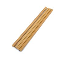 Wholesale 20cm cm Bamboo Straws Bamboo Drinking Straw Reusable Eco Friendly Handcrafted Natural Drinking Straws