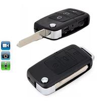 ingrosso sveglia della macchina fotografica attivata-Video di videocamera di sicurezza Mini telecamera Keychain dell'automobile DVR di sicurezza della macchina fotografica della catena chiave dell'automobile di Mini