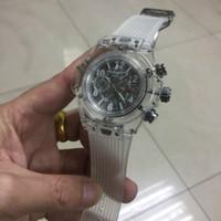 Wholesale White Rubber Swiss Watch - Swiss Mens Sports women Quartz Wristwatch Chronograph All Work Luxury military Watches Luxury Brand relogies for men relojes Best Gift