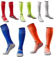 Wholesale fit racing - 10 Style Children's Soccer Socks Cotton Football Socks Outdoor Kids Sports Socks Fit to Size 33-37 Support FBA Drop Shipping H102S