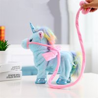 Wholesale pet robot toys for kids for sale - Electronic Pet Toys Sing and Walking Unicorn Electronic plush Robot Horses New Christmas Gift Electronic plush toys for Kids birthday gifts