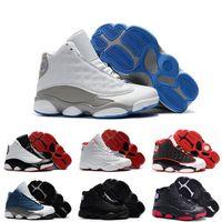 спортивные игры для мальчика оптовых-Дешевые дети 13 13s баскетбольная обувь Чикаго он получил игру разводили высота DMP мальчики девочки кроссовки Дети Детские спортивная обувь размер 11C-3Y
