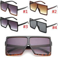 Wholesale super popular online - Popular Super Square Fashion Sunglasses for Men and Women Sun Glasses UV Protection Eyewear Goggles Glasses Nice Face A