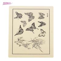 übe skins für tattoo großhandel-Tattoo Practice Skins für Tattoo Maschinengewehr Nadel Tinte Tipps Griffe Kits 6 Stile können wählen