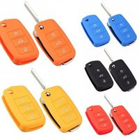 Wholesale Vw Key Case Silicone - Universal Car Accessories Silicone Car Key Holder Case Cover for Volkswagen VW