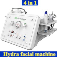 Wholesale microcurrent bio face lift - Diamond Microdermabrasion skin care treatment BIO ultrasonic microcurrent face lift hydra facial machine Hydra Dermabrasion oxygen therapy