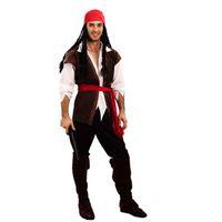 carnaval vestido homem venda por atacado-2018 homens homens pardal piratas traje para adultos masquerade trajes cosplay carnaval fancy dress partido suprimentos purim