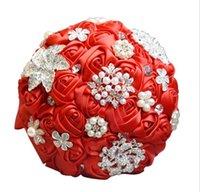anges romantiques achat en gros de-Mariage éternel ange fournit des mariées romantiques tenant le bouquet