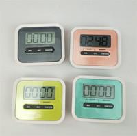 lcd elektronischer digitaler timer großhandel-Praktische LCD Digital Countdown Timer Home Englisch Elektronische Kunststoff Erinnerung Gerät Kreative Küche Kochen Werkzeuge Zubehör 6gl YY