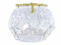Wholesale pants lock - Haian Pull-On Locking Plastic Pants Color Glass Clear P016-9