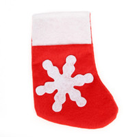 wholesale small christmas stockings wholesale online creative christmas stock decorations stocking christmas tableware small dinnerware