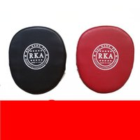 Wholesale mitt for sale - Group buy Gym Boxing Mitt Hand Target Thai Boxing Taekwondo Trainer Shock Absorption Foot Targets Fitness Protective Gear bt Ww